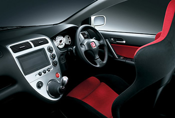 EP3 Honda Civic Type R Interior